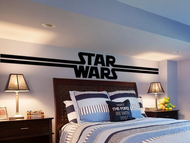 Star Wars Logo wall decal