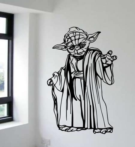 Star Wars Yoda wall decal sticker