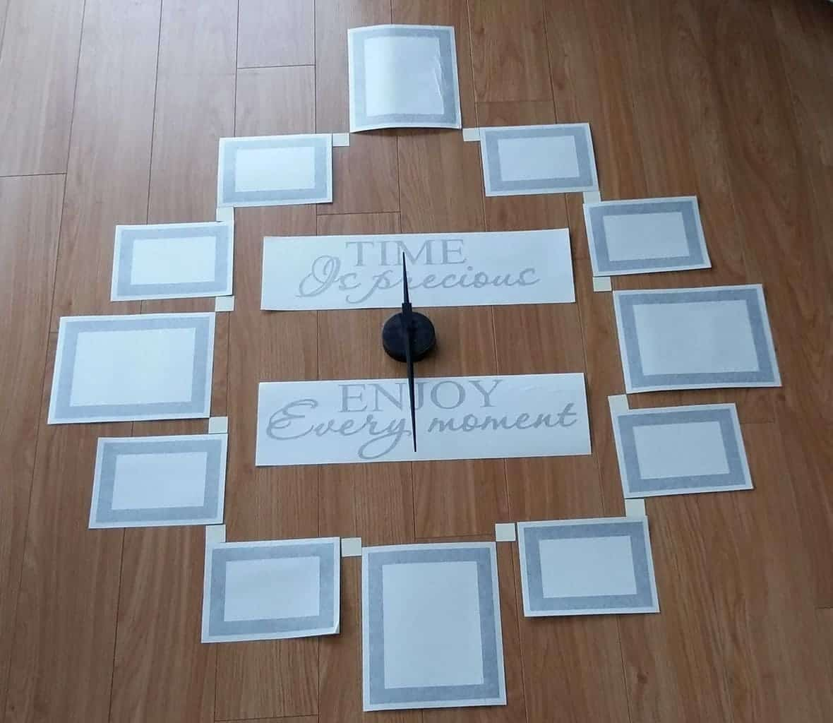 Quote and Picture frame clock