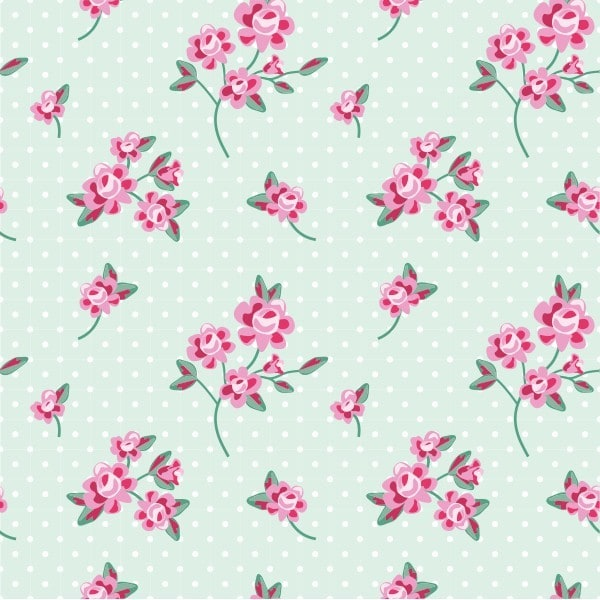 Polka Dot Floral