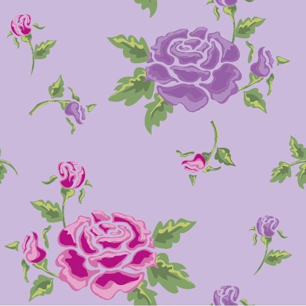 Pink Purple Rose