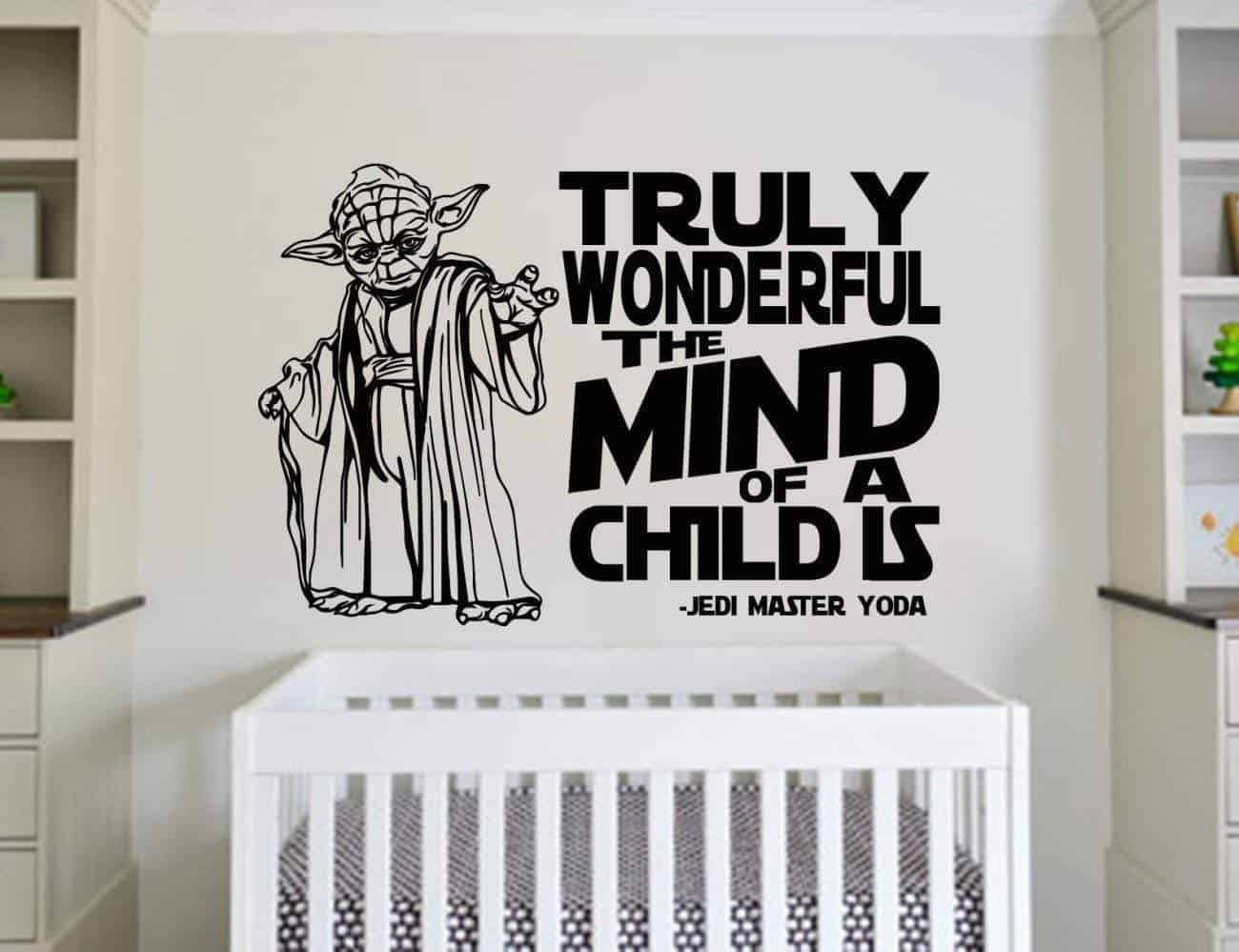Star Wars mind of a child wall decal