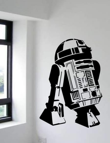 Star Wars R2D2 wall decal