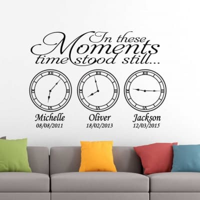 In these moments time stood still | Memory clocks