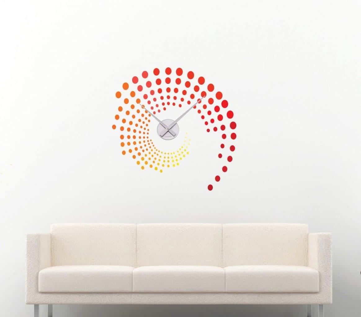 Wall decal sticker clock