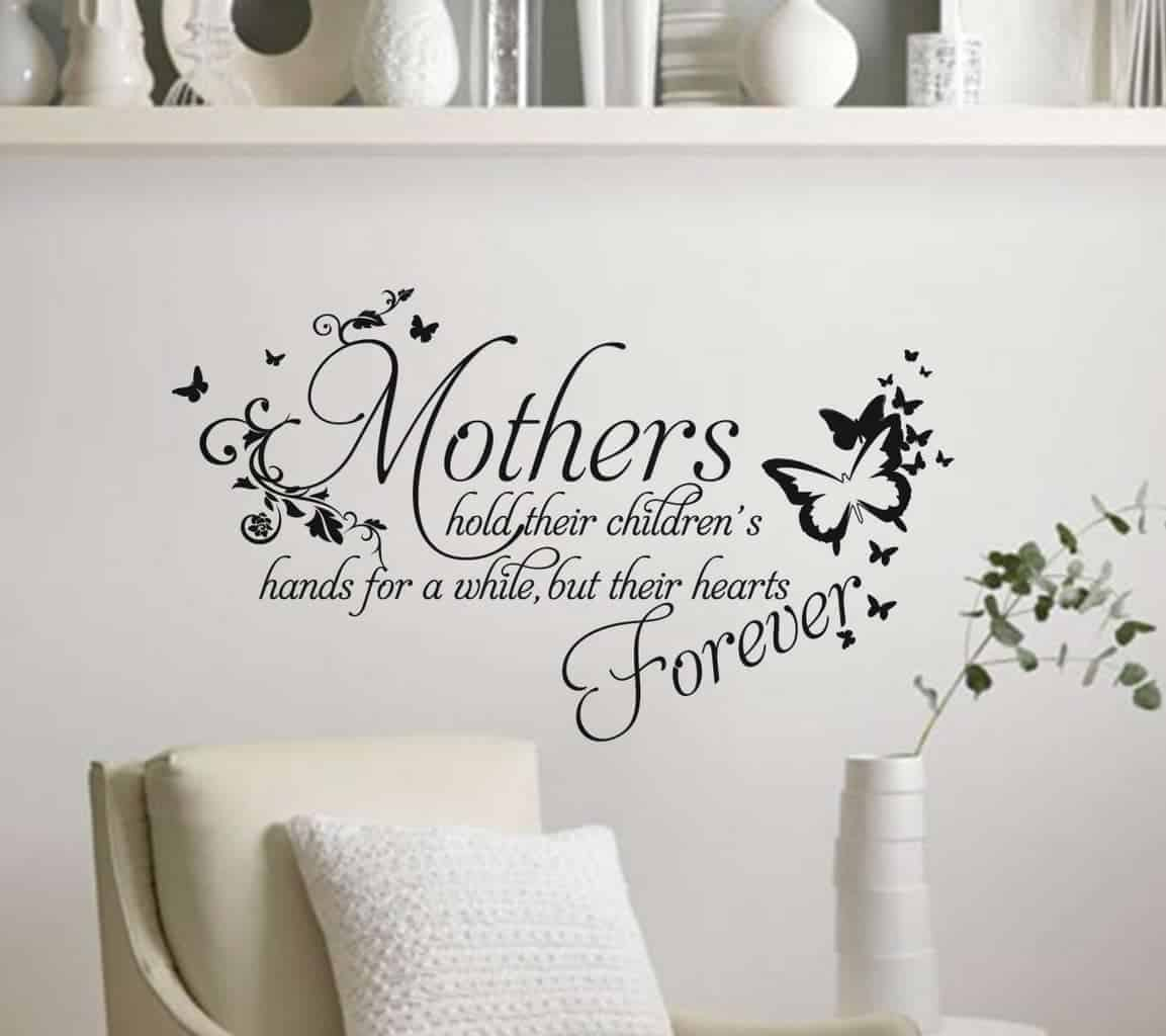 Mothers wall art decal sticker