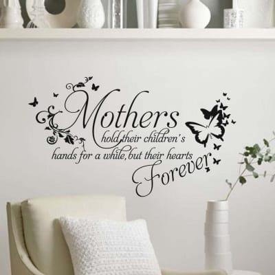 Mothers wall art decal sticker