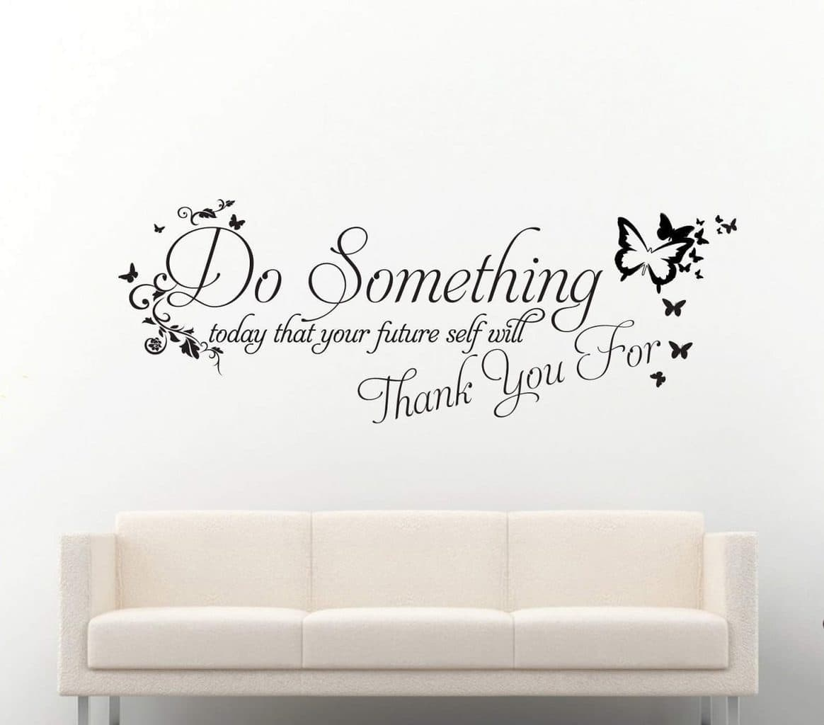 Do something wall decal sticker