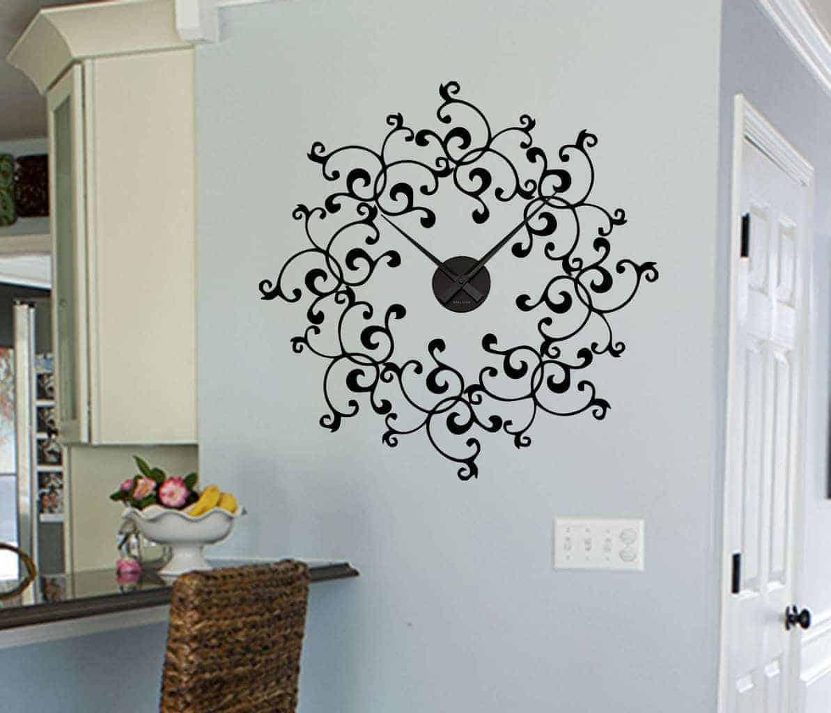 sticker clock | Wall decal sticker clock & Wall decal sticker clock | wall decals | wall stickers | wall quotes ...