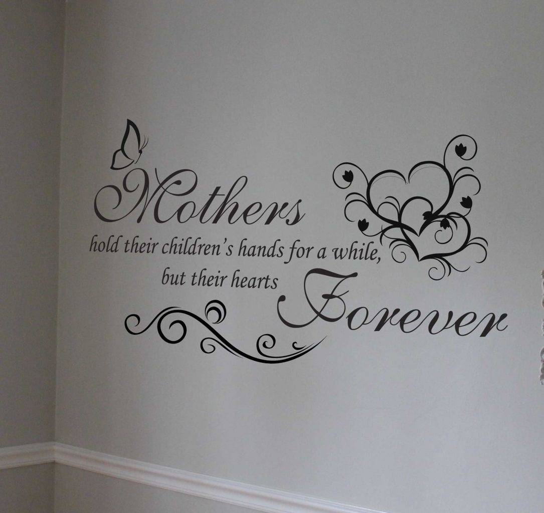 Mothers wall art decal