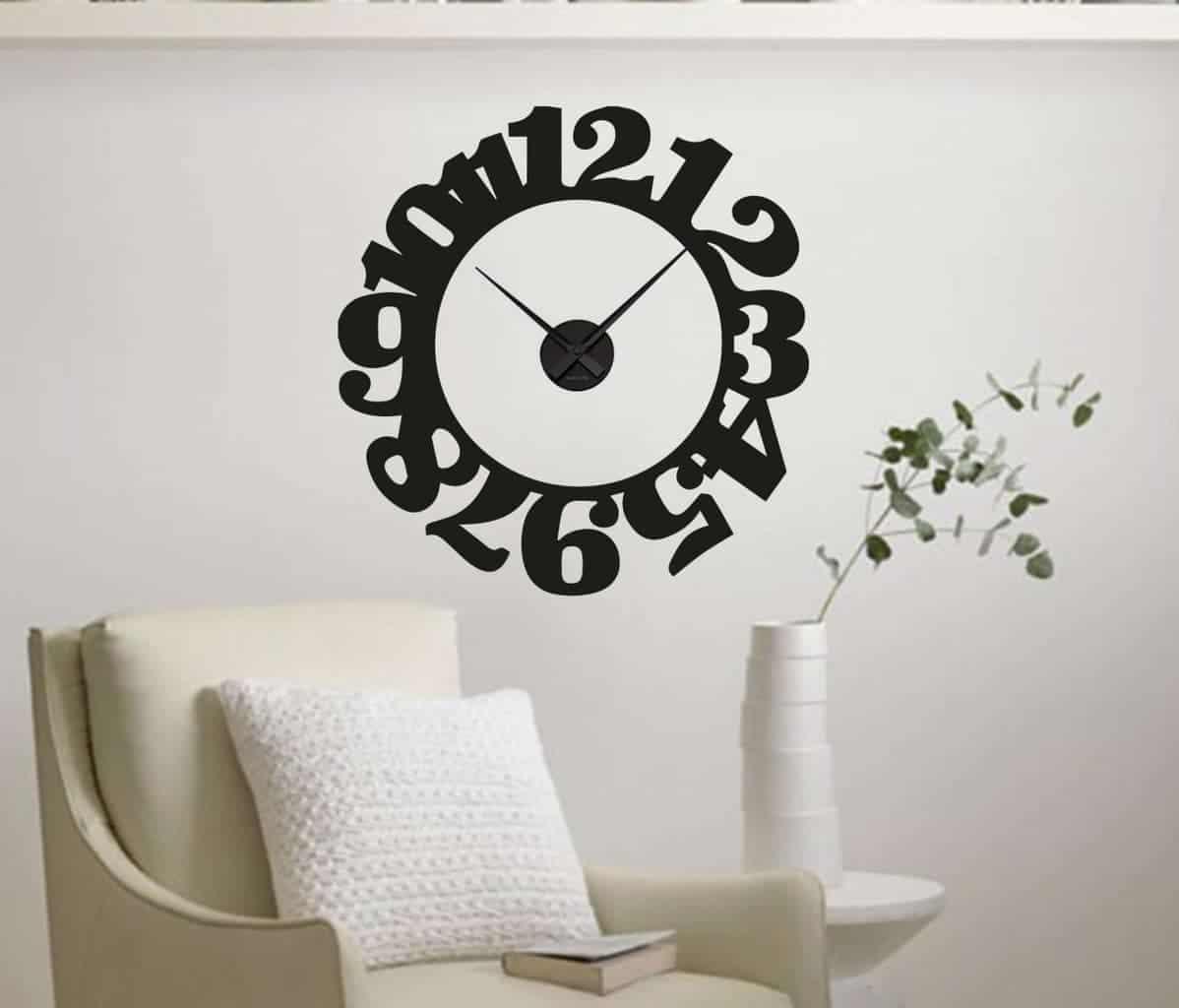 decal sticker clock