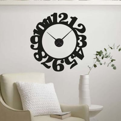 decal sticker clock