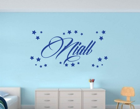 Personalised name decal