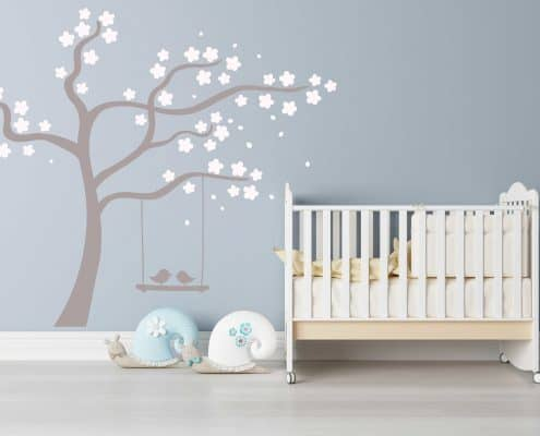 Blossom tree wall decal sticker