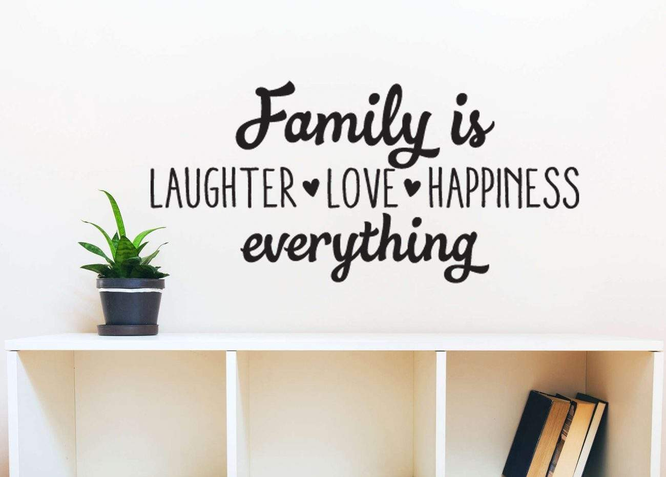 Family is everything wall decal sticker
