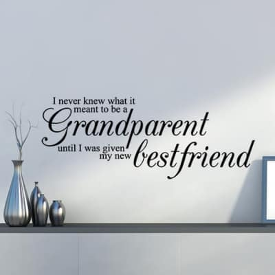 Grandparent wall decal sticker