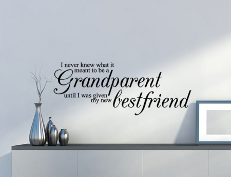 Grandparent wall decal sticker