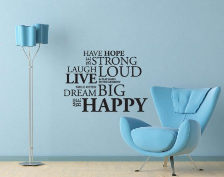 Have hope wall decal