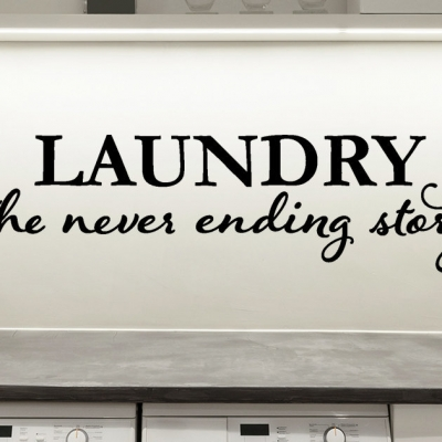 Laundry the never ending story