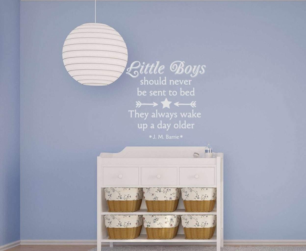 Little boys wall decal sticker | baby boy sticker