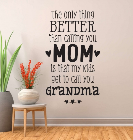 Grandma wall decal sticker