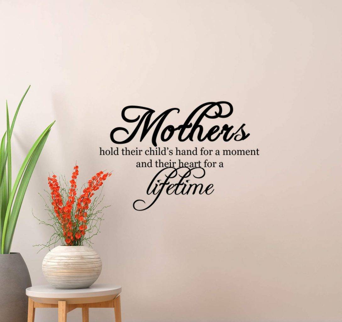Mother wall decal sticker