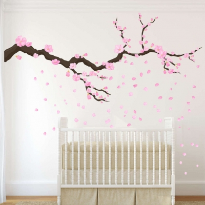 Blossom tree branch wall decal | wall decal
