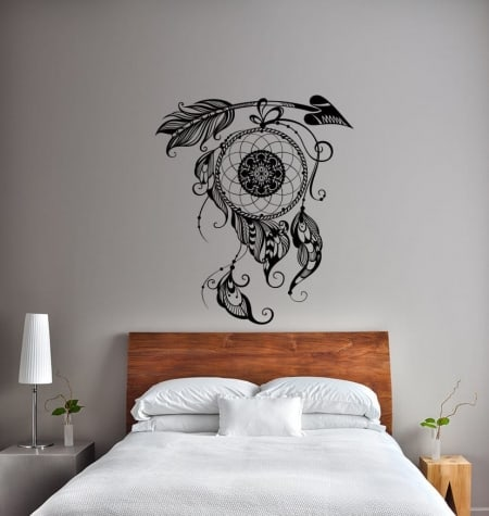 Dream catcher arrow wall decal