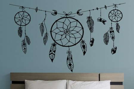 Dream catchers wall art decal