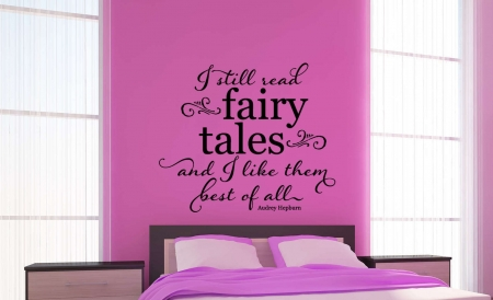 Fairy tales wall decal sticker