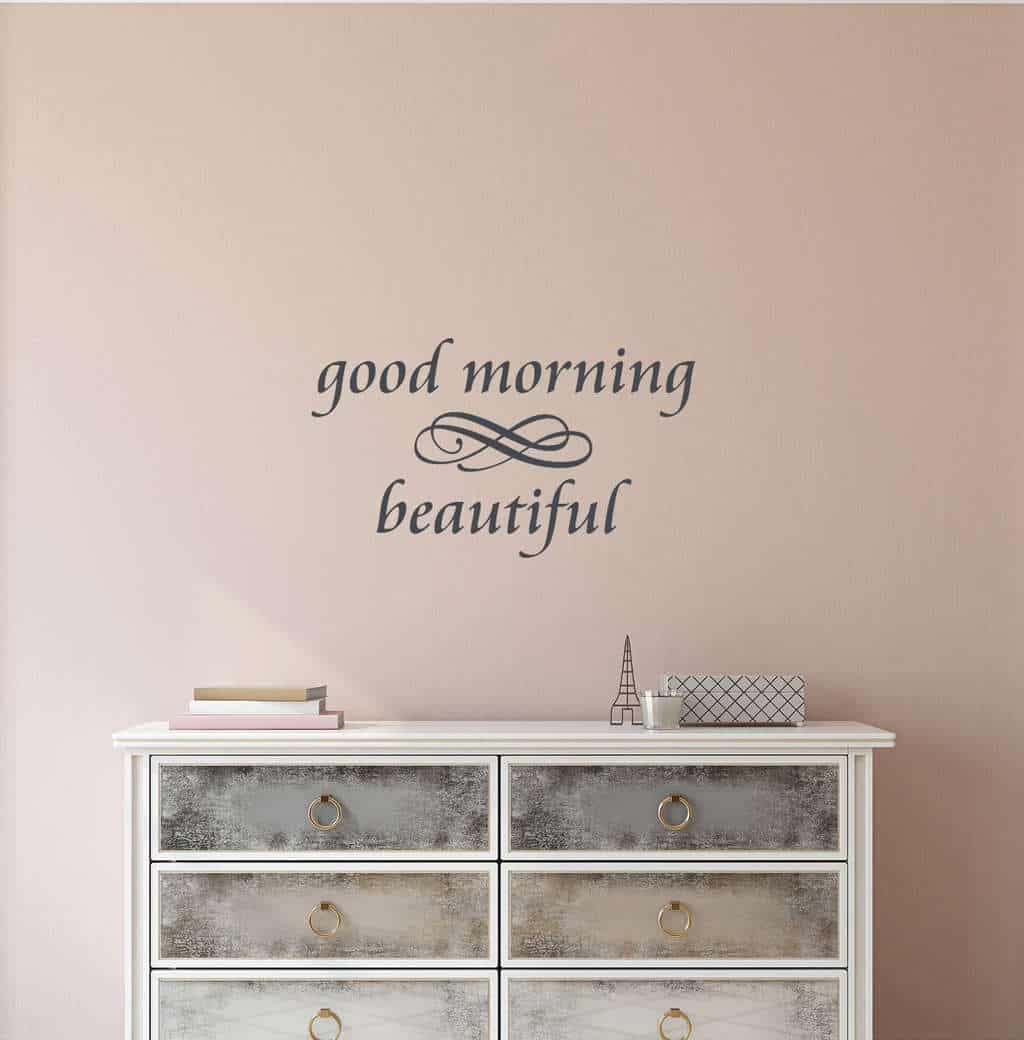 Attrayant Good Morning Beautiful Wall Decal Sticker