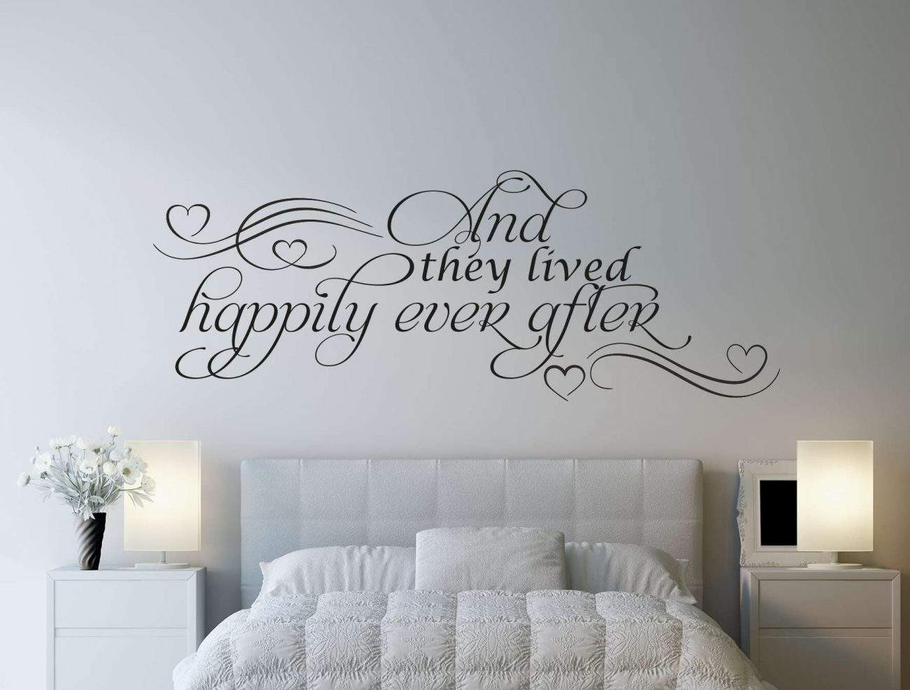 And they lived happily ever after wall decal sticker