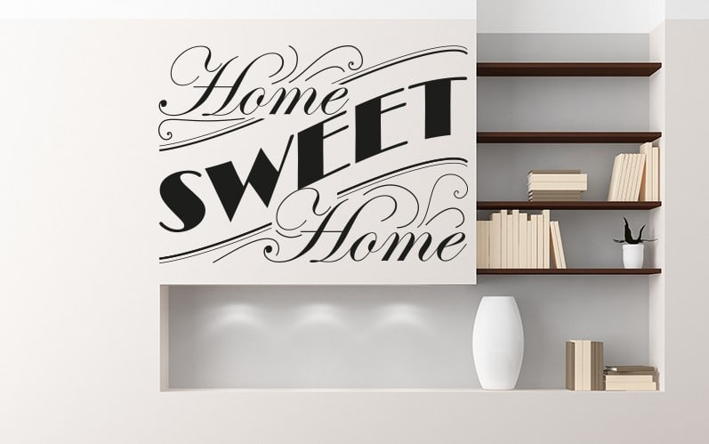 Home Sweet Home Wall Decal Sticker Part 32
