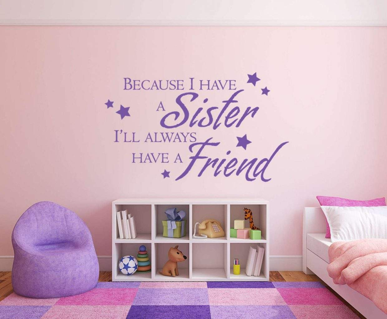 Sisters friends wall decal sticker