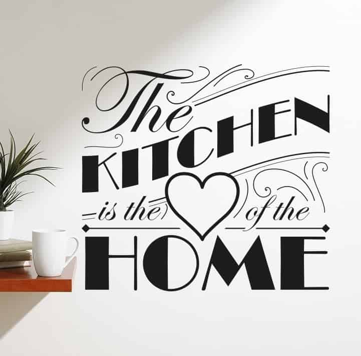 Spiritual Kitchen Wall Decals