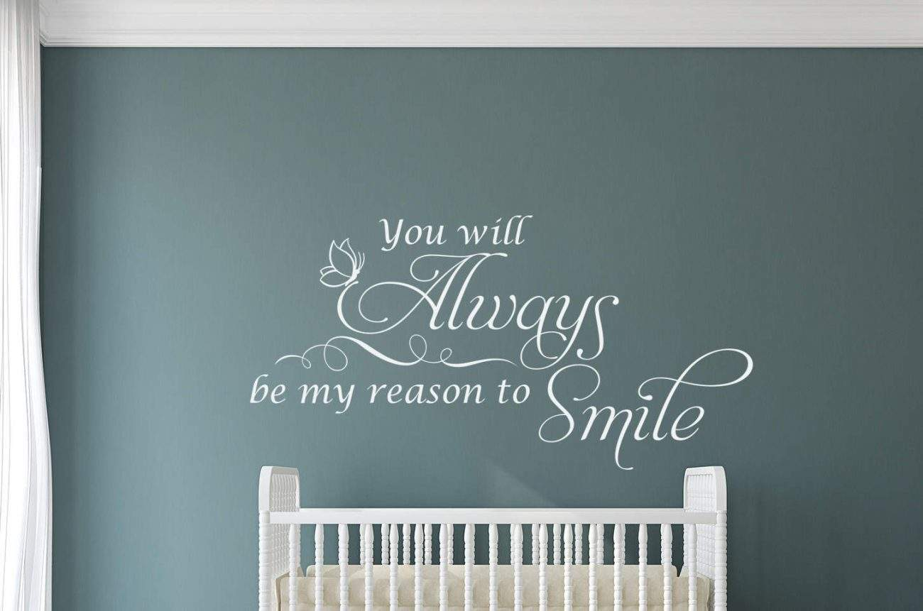 My reason to smile wall decal sticker