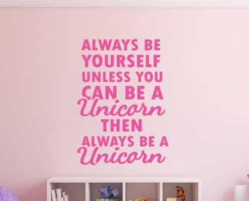 Unicorn wall decal sticker