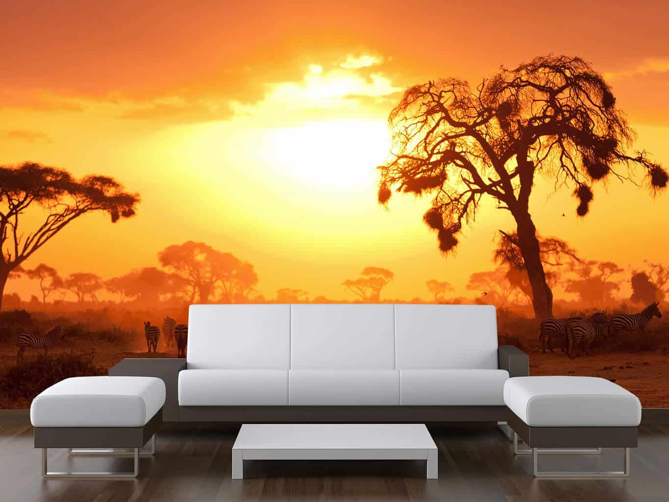 African planes sunset wall mural wall mural wall murals for African sunset wall mural