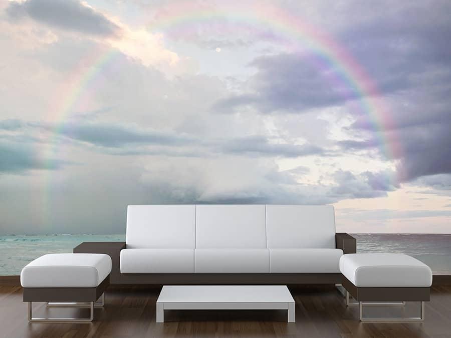 Rainbow Wall Mural