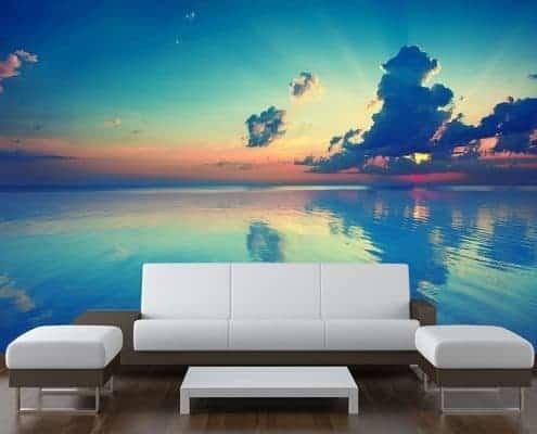Sea Sky Wall Mural