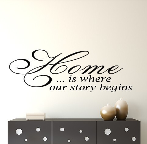 Home wall decal sticker