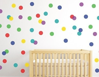Polka Dot Wall Decal Sticker