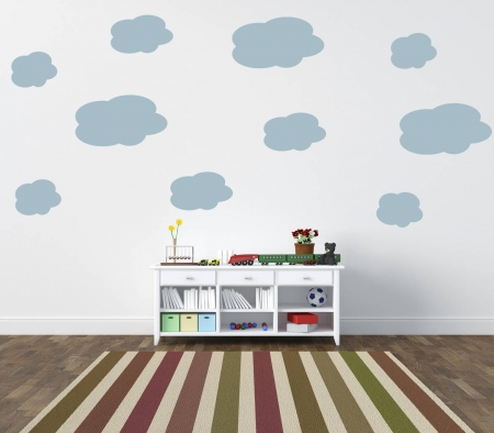 Clouds wall decal sticker