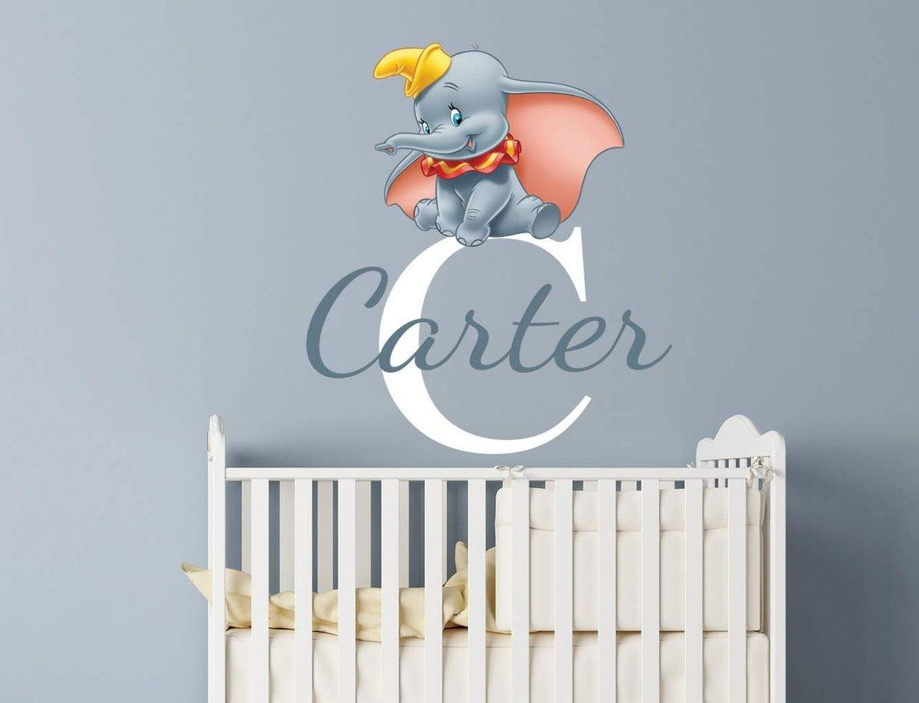 Nursery Wall Stickers With Custom Names By Eydecals