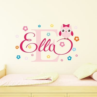 Children's Name Wall Decals