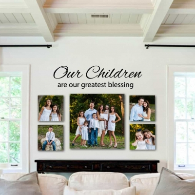 Our Children wall decal sticker