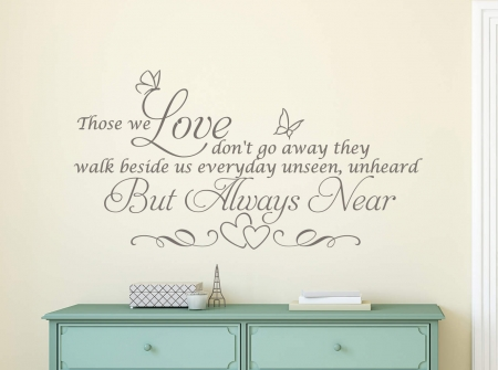 Those we love wall decal sticker
