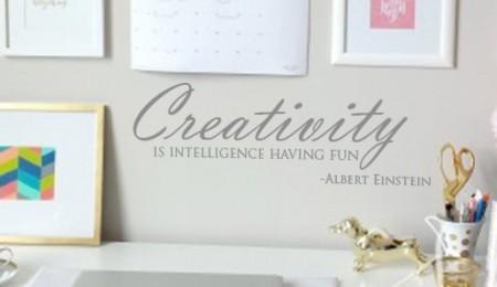 Creativity Wall Decal Sticker