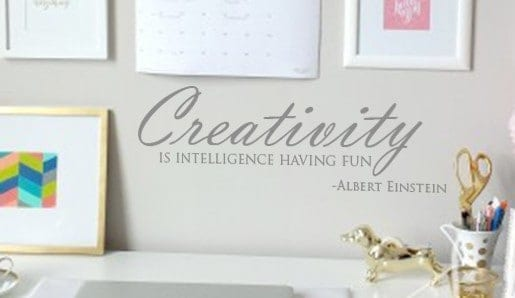 Creativity Wall Decal Sticker