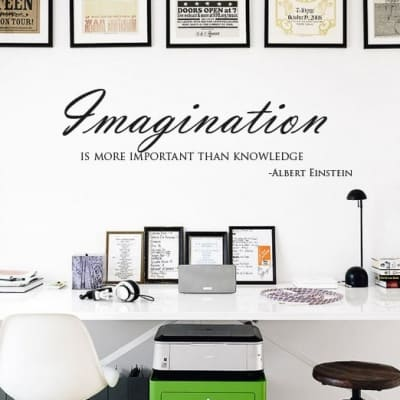 Imagination Wall Decal Sticker
